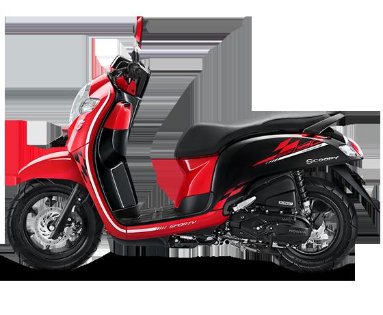 Honda Scoopy Stylish White Red, Pilihan Anak Muda Kekinian