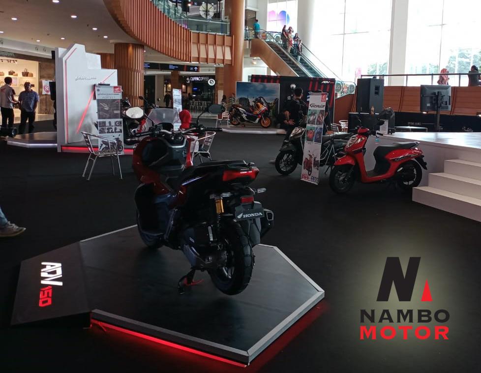 Pameran Motor Honda Matic 2021