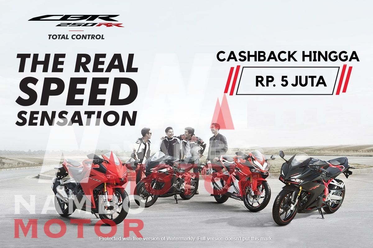 Promo Lebaran, Kredit Motor Honda Unggulan dengan DP Murah!