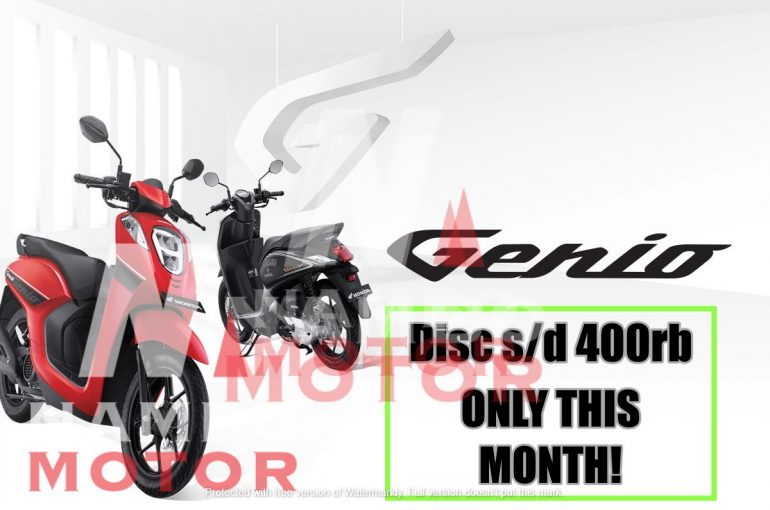 Simak Ulasan Lengkap Honda Genio Sebelum Membeli